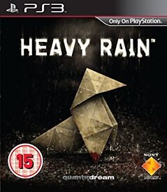 PS3 HEAVY RAIN USED / UNCHARTED 3 USED/ COD GHOST USED / BORDERLANDS 2 NEW