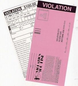 Joke Parking Tickets