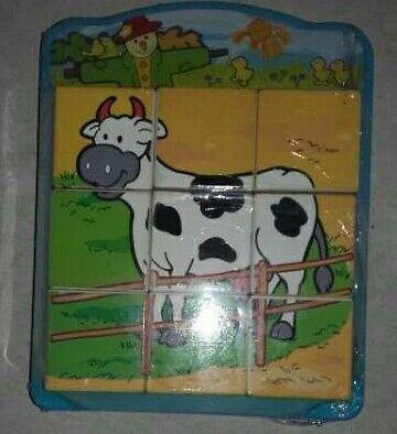 Plastic 6 in 1 cube puzzle