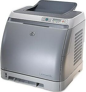 HP Color Laserjet 1600 printer with 4 partially used cartridges