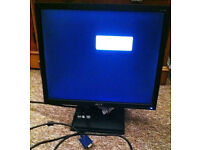"""ACER 17"""" LCD monitor £10 ono"""