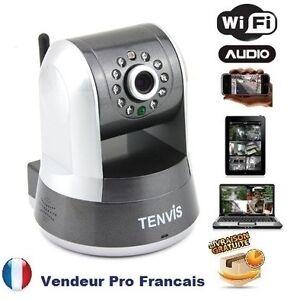 Robot Camera Reseau IP Motorisé Infrarouge pr IPHONE ...