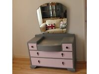 Art Deco Style 1960's 'Utility Furniture' Dressing Table