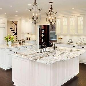 EnjoyHome Granite&Quartz Countertop Installed from $45/sf, FREE SINKS, Maple Cabinets 50% OFF