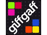 FREE giffgaff SIM Card with £5 Bonus Credit* - Fast Delivery (Collection Available)