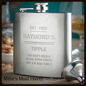 Gifts for men... New and personalised.