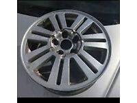 Ford fiesta alloy wheel rim
