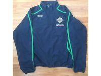 Northern Ireland football training jacket