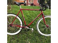 Raleigh Carlton fixie road bike