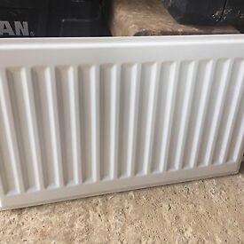 Single skin nearly new radiator 500x300mm
