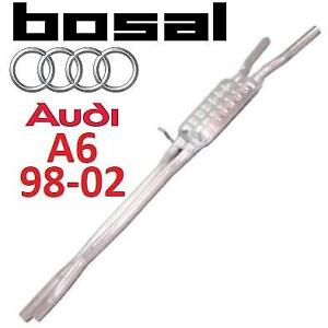 NEW BOSAL AUDI A6 CENTER EXHAUST 285-997 213031550 98-01 RESONATOR  PIPE ASSEMBLY