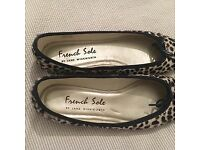 French Sole ballet flats, size 5/6, 38/39