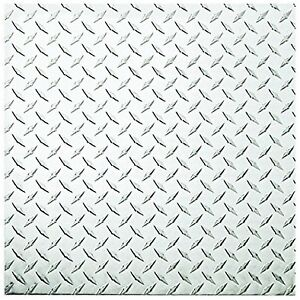 "Diamondplate Aluminum Tread Plate Sheet Metal 24""x24"""