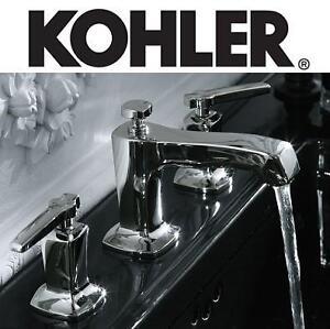 NEW KOHLER BATHROOM FAUCET - 123226160 - MARGAUX WIDESPREAD LAVATORY POLISHED CHROME
