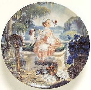 "Collector Plate: ""Little Miss Muffet"" Peterborough Peterborough Area image 1"
