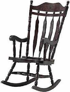 WOW!! Hardwood Rocking Chairs