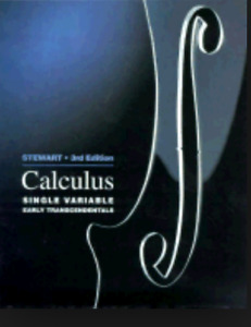 Calculus: Single Variable Early Transcendentals.