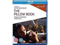 The Pillow Book (Blu-ray DVD, 2011)