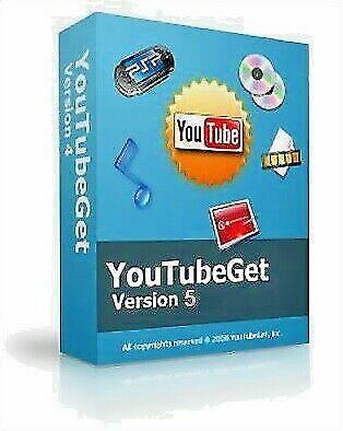 Youtubeget V5 - standard edition- download and convert youtube videos setup+key Standard Downloadable Software