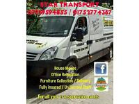 **STAR TRANSPORT AND REMOVALS** Nationwide Removals / man and Van Service