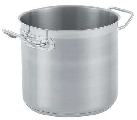 VOLLRATH 3503 Stainless Steel Stock Pot,11 Qt.