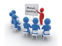 Manual handling course on special offer £55