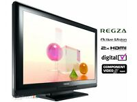"""Toshiba Regza 32"""" inch HD Ready LCD TV with Freeview built in, 2x HDMI, 32AV505DB not 37 28"""