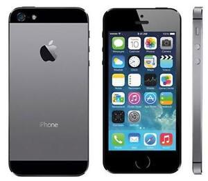 iphone5swork with telus koodo public mobile with box $250