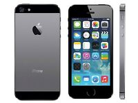 I phone 5s in space grey on ee