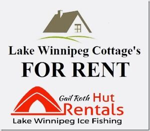 Lake Winnipeg Cottage Rentals. Ice Fishing