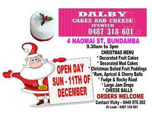 CHRISTMAS CAKES & GIFTS OPEN DAY 9.30 TO 3PM Bundamba Ipswich City Preview
