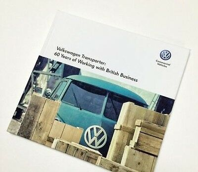 GENUINE VW TRANSPORTER 60 EDITION BOOK – 60 YEARS WORKING WITH BRITISH BUSINESS
