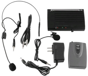 MVPower Wireless Lapel Headset Microphone MIC System New in box