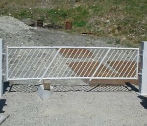 Steel Gates and Gate Posts