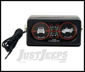 Clinometer W/Light for offroad