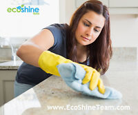 EcoShine Team | House Cleaning, Bi-Weekly WHITBY OSHAWA