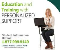Explore Online Learning with Contact North!