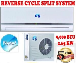 NEW 9000 BTU 2.65KW SPLIT SYSTEM REVERSE CYCLE AIR CONDITIONER Caulfield Glen Eira Area Preview