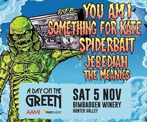 A Day on the Green ticket for sale! Kurri Kurri Cessnock Area Preview
