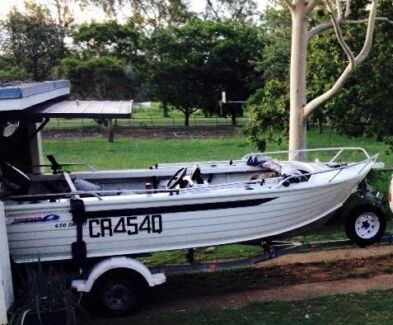Boat - 2007 4.5m Brooker
