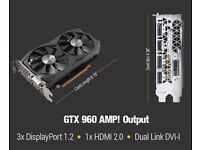 Zotac GTX 960 AMP Edition 2GB DDR5