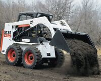 RENT BOBCAT/SKID STEER WITH SKILLED OPERATOR