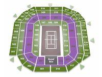 Wimbledon - Men's Quarter Finals CENTRE COURT x 2