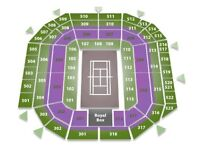 2 x Wimbledon Mens Semi Final Tickets