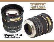 Canon 85mm 1.2