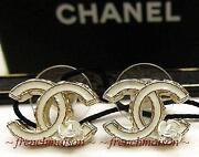 Chanel Pierced Earrings