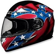 Rebel Flag Motorcycle Helmet