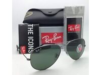 Authentic Ray Ban Aviator Sunglasses