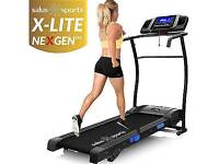 X-Lite Nexgen Treadmill-Adjustable Incline Motorised Folding Running Machine