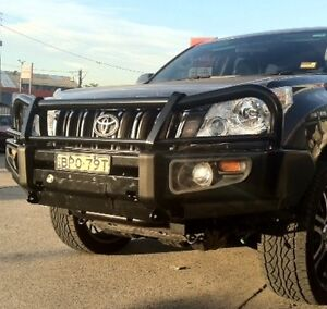 Toyota Landcruiser Prado 150 Series Bullbar - Premium Bull Bar, Winch Mountable